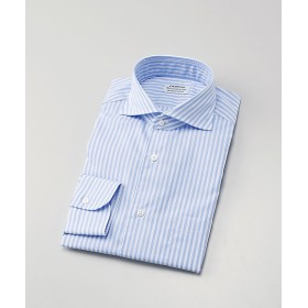 <フェアファクス/FAIRFAX> ドレスシャツ/形態安定(7155) 13・サックス 【三越・伊勢丹/公式】