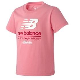 (NB公式) ≪ログイン購入で最大8%ポイント還元≫ ビビッドTシャツ (PK ピンク) ニューバランス newbalance