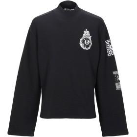 《期間限定 セール開催中》McQ Alexander McQueen メンズ スウェットシャツ ブラック XS コットン 100% / ポリウレタン