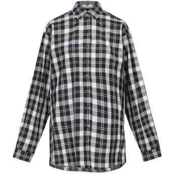 《セール開催中》MICHAEL KORS COLLECTION レディース シャツ ブラック 2 シルク 54% / コットン 46%