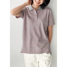 【レディース】 UVカットポロシャツ(半袖)(S-5L) ■カラー:K ■サイズ:LL,3L,4L-5L,L