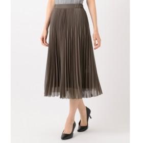 J.PRESS ブライトスパンボイル プリーツスカート