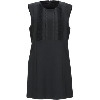 《9/20まで! 限定セール開催中》BEATRICE B レディース ミニワンピース&ドレス ブラック 46 ポリエステル 53% / ウール 43% / ポリウレタン 4%