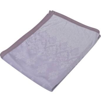 京都西川 タオルケット・ガーゼケット ピンク シングル 140×190cm ケット 接触冷感 洗える リバーシブル ひんや