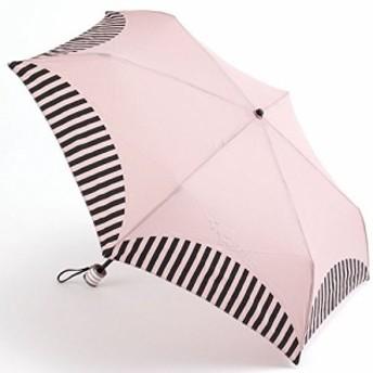 Voute/ヴート cc-008mm (ピンク) 傘収納袋付き 銀糸刺繍傘 雨傘 折りたたみ傘 晴雨兼用傘 かわいい傘 UV加工付