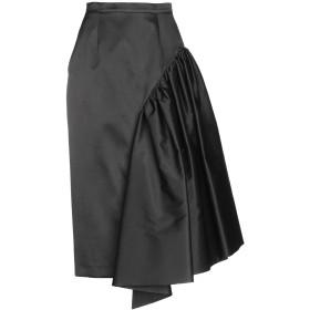 《期間限定セール開催中!》MICHAEL KORS COLLECTION レディース 7分丈スカート ブラック 2 ウール 57% / シルク 43%