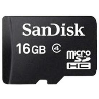 SANDISK・サンディスク マイクロSDカード16GBクラス4 UHS1 Class4 SDSDQAB-016G-BULK【特別価格】