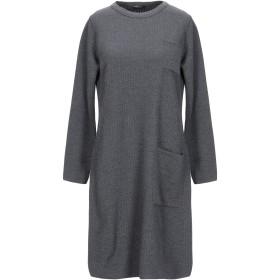 《送料無料》NEERA レディース ミニワンピース&ドレス 鉛色 42 ウール 100%