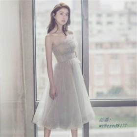 6e56ddb91984b パーティードレス パーティドレス 結婚式 二次会ドレス 20 ウエディングドレス ミディアムドレス お呼ばれドレス ドレス