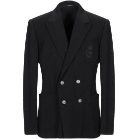 《期間限定セール開催中!》DOLCE & GABBANA メンズ テーラードジャケット ブラック 44 バージンウール 100%