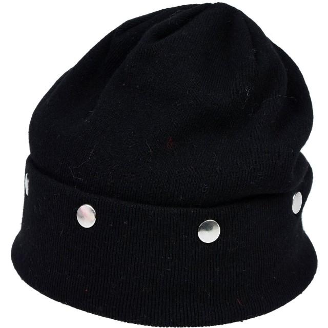 《期間限定セール開催中!》ANIYE BY レディース 帽子 ブラック one size レーヨン 40% / ウール 25% / ナイロン 25% / カシミヤ 5% / 毛(アンゴラ) 5%