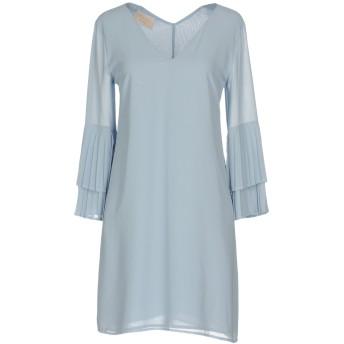 《セール開催中》KAOS JEANS レディース ミニワンピース&ドレス スカイブルー 40 ポリエステル 100%