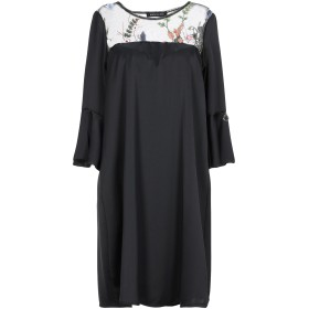 《期間限定セール開催中!》MANGANO レディース ミニワンピース&ドレス ブラック S/M ポリエステル 100%