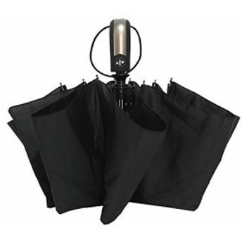 YDO 折り畳み傘 ワンタッチ自動開閉 10本骨 耐風 撥水 晴雨兼用 大型 シンプル 210T高密度NC布 収納ケース付 黒色