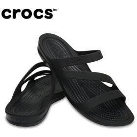 クロックス サンダル レディース Women's Swiftwater Sandal スウィフトウォーター サンダル ウィメン 203998-060 crocs