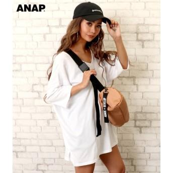 【セール開催中】ANAP(アナップ)ナイロンテープボストンバッグ