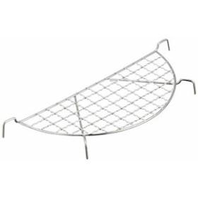 遠藤商事 業務用 クリンプ目半月型天ぷらアミ 27cm用 ステンレス ATV04027