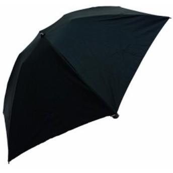 藤田屋 折り畳み傘 耐久撥水傘 55cm ブラック M55-1623