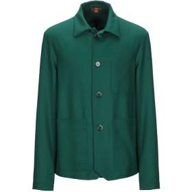 《期間限定 セール開催中》BARENA メンズ テーラードジャケット グリーン 52 バージンウール 98% / ポリウレタン 2%