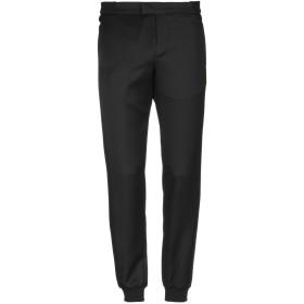 《期間限定セール開催中!》LES HOMMES メンズ パンツ ブラック 44 バージンウール 100% / コットン / ポリウレタン