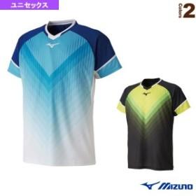 [ミズノ テニス・バドミントン ウェア(メンズ/ユニ)]ゲームシャツ/ユニセックス(72MA9004)