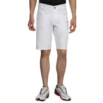 メンズ ショートパンツ ムーブコレクション シャンブレームーブパンツショート(Lサイズ/ホワイト) 52MF9033