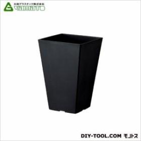 大和プラスチック クエンチハイポット4号 ブラック 100×100×高さ150mm土容量0.7L