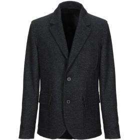 《期間限定セール開催中!》LANVIN メンズ テーラードジャケット ブラック 48 ウール 82% / ポリエステル 18%
