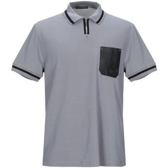 《9/20まで! 限定セール開催中》VERSACE メンズ スウェットシャツ グレー M コットン 100%
