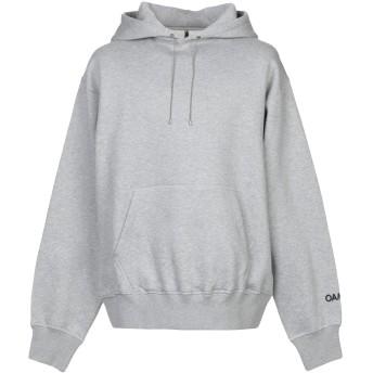 《期間限定セール開催中!》OAMC メンズ スウェットシャツ グレー XL コットン 100%