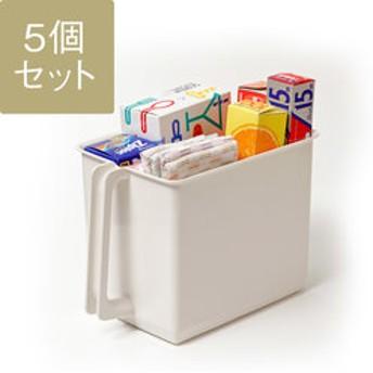 【KEYUCA:キッチン用品・調理器具】【WEB限定】ハンドル付きストッカー 5個セット