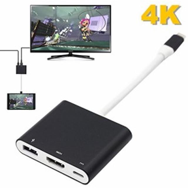 Switch専用 Type-C to HDMI 変換アダプター BRHE スイッチ ドック 代わり品コンバーター スイッチ 熱対策 PD充電 TVモー