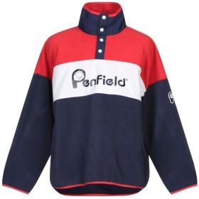 《セール開催中》PENFIELD メンズ スウェットシャツ レッド L ポリエステル 100% / ナイロン