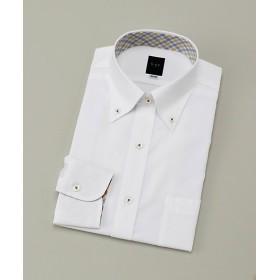 【SALE(伊勢丹)】<ビージーアール> ボタンダウン白ドビーシャツ(3048221512) ホワイト 【三越・伊勢丹/公式】