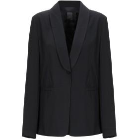 《期間限定セール開催中!》ICHI レディース テーラードジャケット ブラック 36 ポリエステル 100%