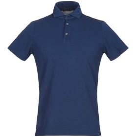 《期間限定セール開催中!》FERRANTE メンズ ポロシャツ ブルー 46 コットン 100%