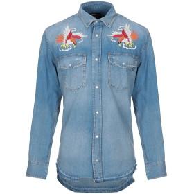 《期間限定 セール開催中》DIESEL メンズ デニムシャツ ブルー XS コットン 100%