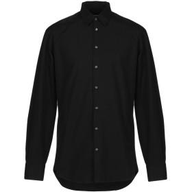 《9/20まで! 限定セール開催中》DSQUARED2 メンズ シャツ ブラック 44 コットン 100% / ポリエステル