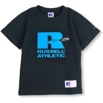 【40%OFF】 ブランシェス ロゴTシャツ(100~140cm) レディース ネイビーブルー 100cm 【branshes】 【セール開催中】