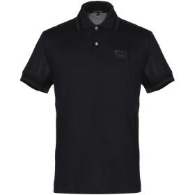 《セール開催中》ROBERTO CAVALLI メンズ ポロシャツ ダークブルー S コットン 100%