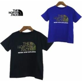 THE NORTH FACE(ノースフェイス)S/S CAMO LOGO Tee (90-150) 半袖Tシャツ