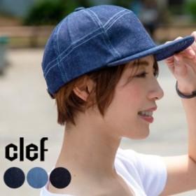 clef クレ C PUZZLE CAP パズルキャップ デニムキャップ 帽子 メンズ レディース ユニセックス 速乾 夏