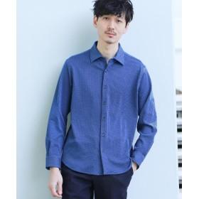 TAKEO KIKUCHI(タケオキクチ) シアサッカーシャツ[ メンズ シャツ ストレッチ ストライプ ]