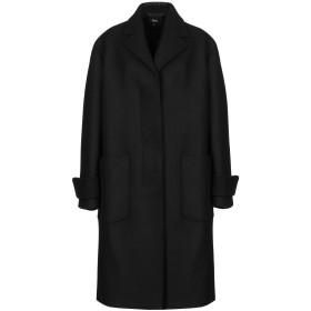《期間限定 セール開催中》VERSUS VERSACE レディース コート ブラック 36 ウール 80% / ナイロン 20%