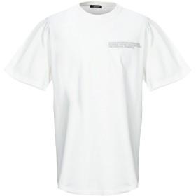 《期間限定セール開催中!》CALVIN KLEIN 205W39NYC メンズ T シャツ アイボリー S コットン 100%