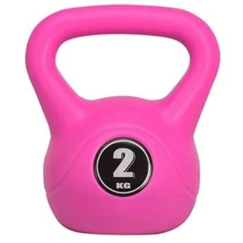 マッスルジーニアス(muscle genius) トレーニング用品 ケトルベル MG-CK02 2kg ピンク 37883 フィットネス ウエイトトレーニング 筋トレ ダンベル 室内用