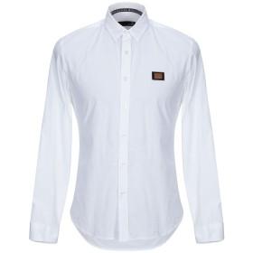 《期間限定 セール開催中》LOVE MOSCHINO メンズ シャツ ホワイト XS コットン 97% / ポリウレタン 3%
