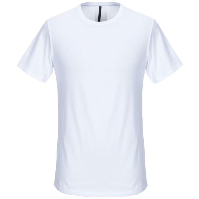 《期間限定セール開催中!》TAKESHY KUROSAWA メンズ T シャツ ホワイト L コットン 100%
