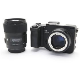 《美品》SIGMA sd Quattro H & A 35mm F1.4 DG HSM レンズキット