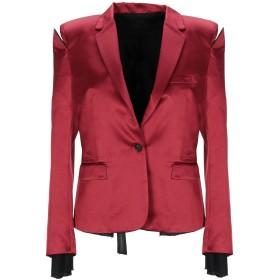 《送料無料》BEN TAVERNITI UNRAVEL PROJECT レディース テーラードジャケット ボルドー 42 シルク 100% / レーヨン / ポリウレタン